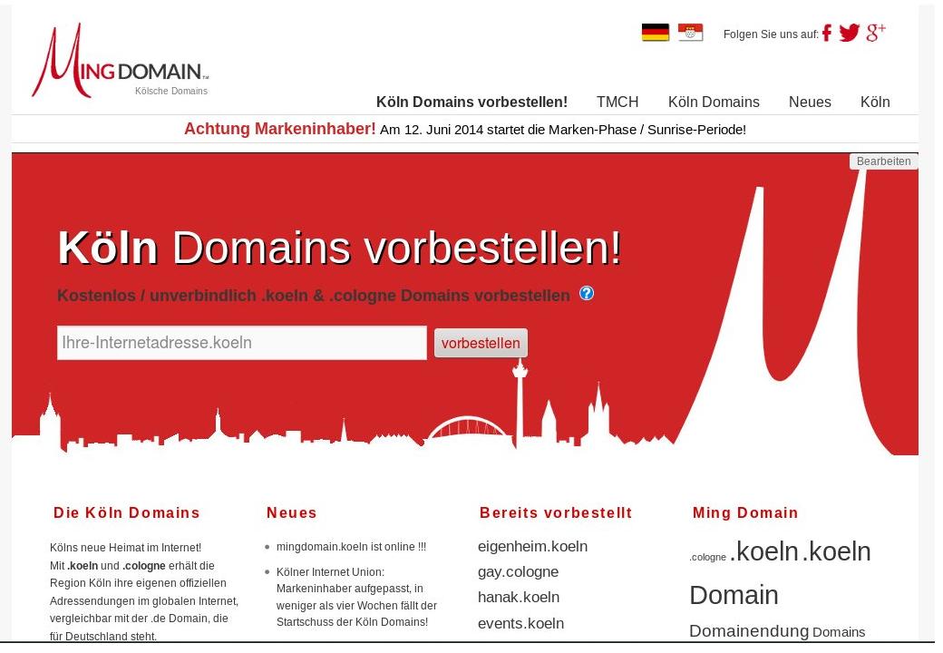Koeln Domain