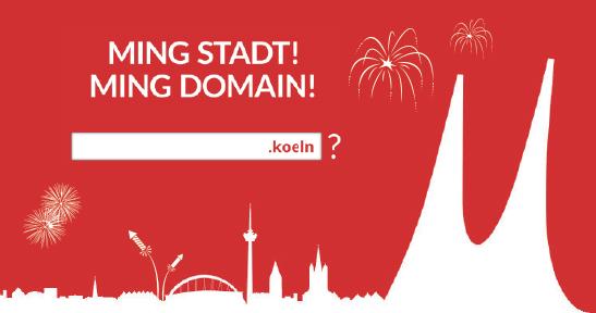 Köln ist jetzt DOMain-Stadt!